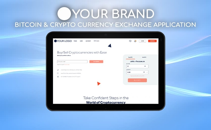Bitcoin & Crypto Currency Exchange Application
