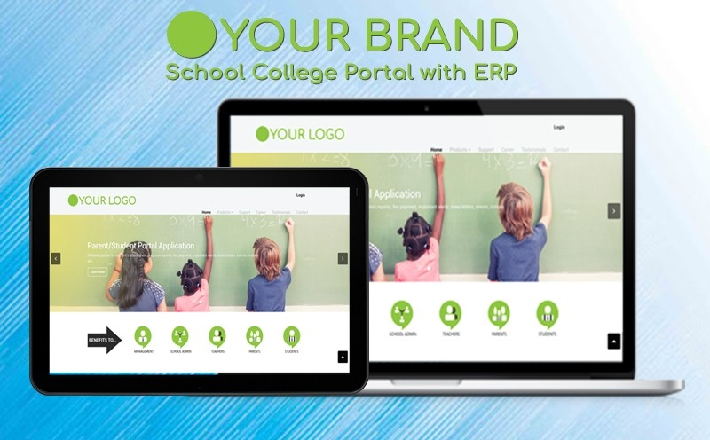 School College Portal with ERP