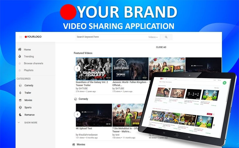 Video Sharing Application